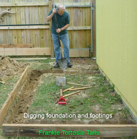 Footings As Required By Greenhouse Specifications Can T