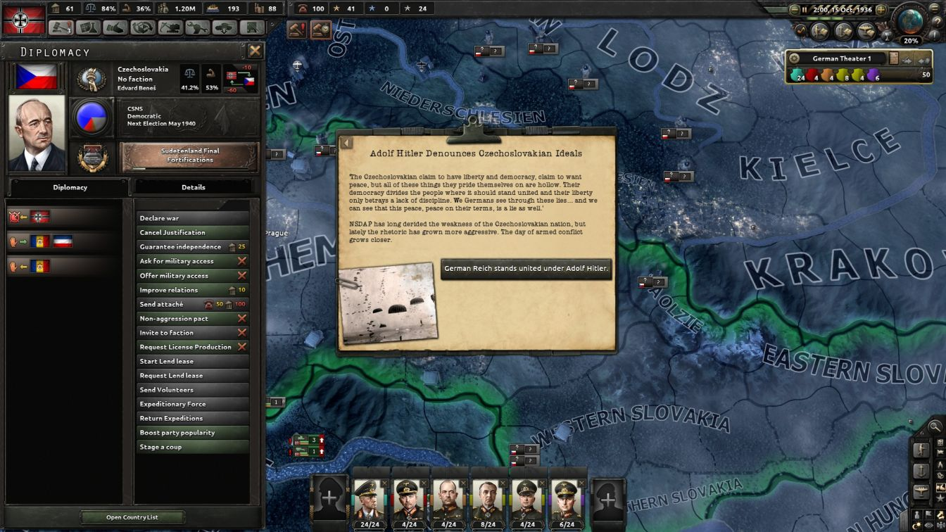 Germany - HOI4 - Alpine Blitzkrieg
