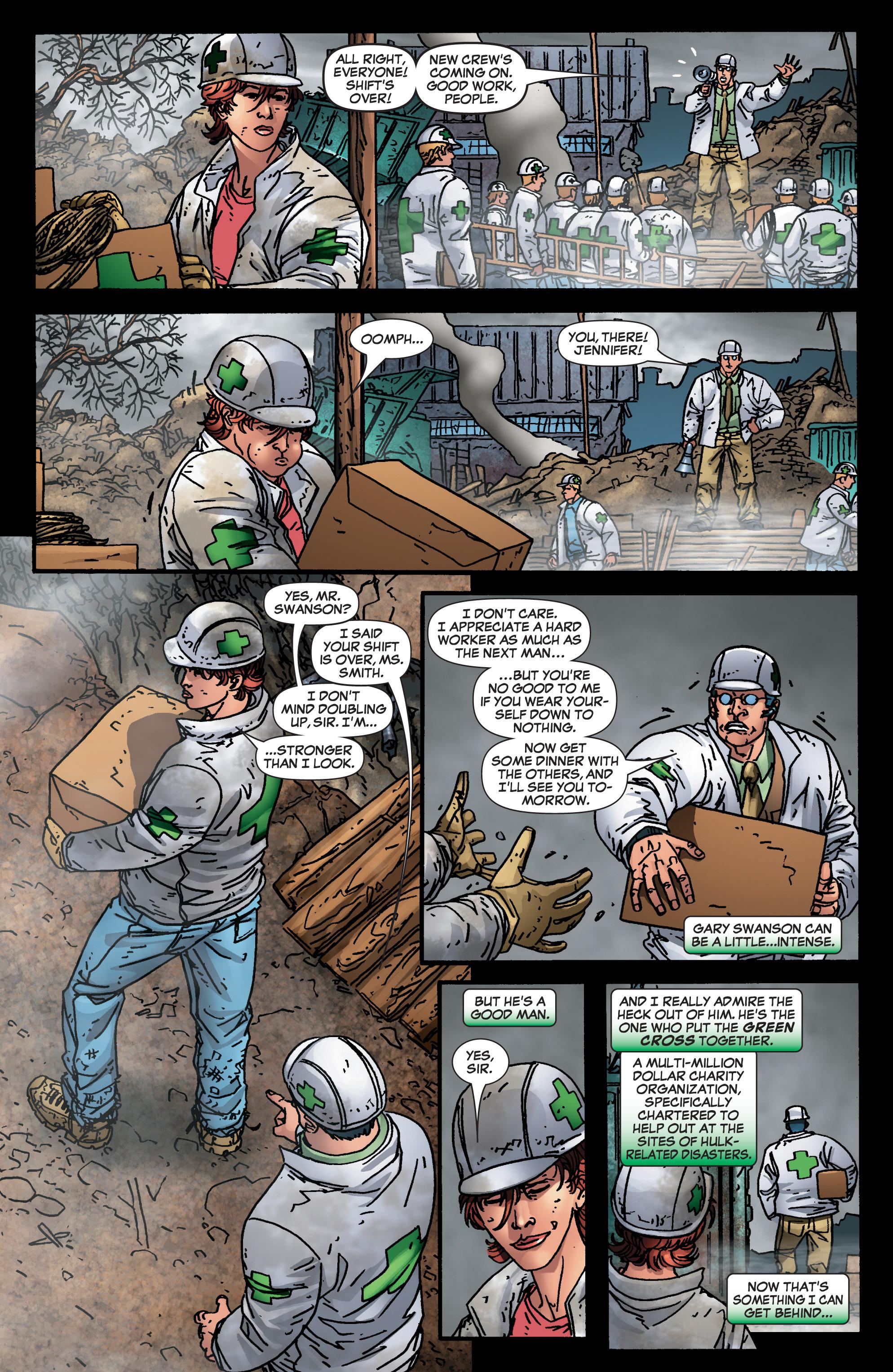 Read online She-Hulk (2005) comic -  Issue #4 - 4