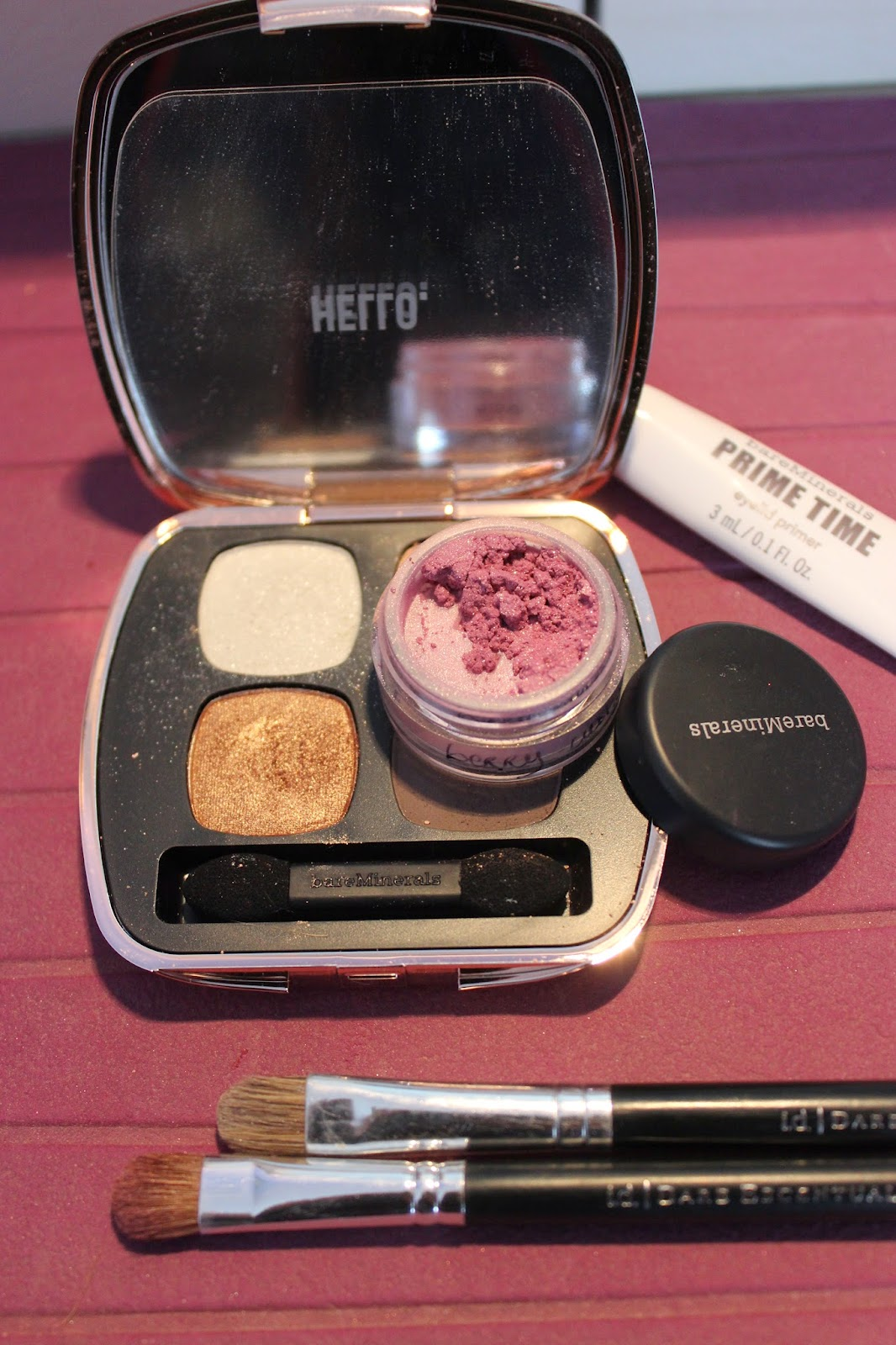 Make up bareminerals rose et blanc
