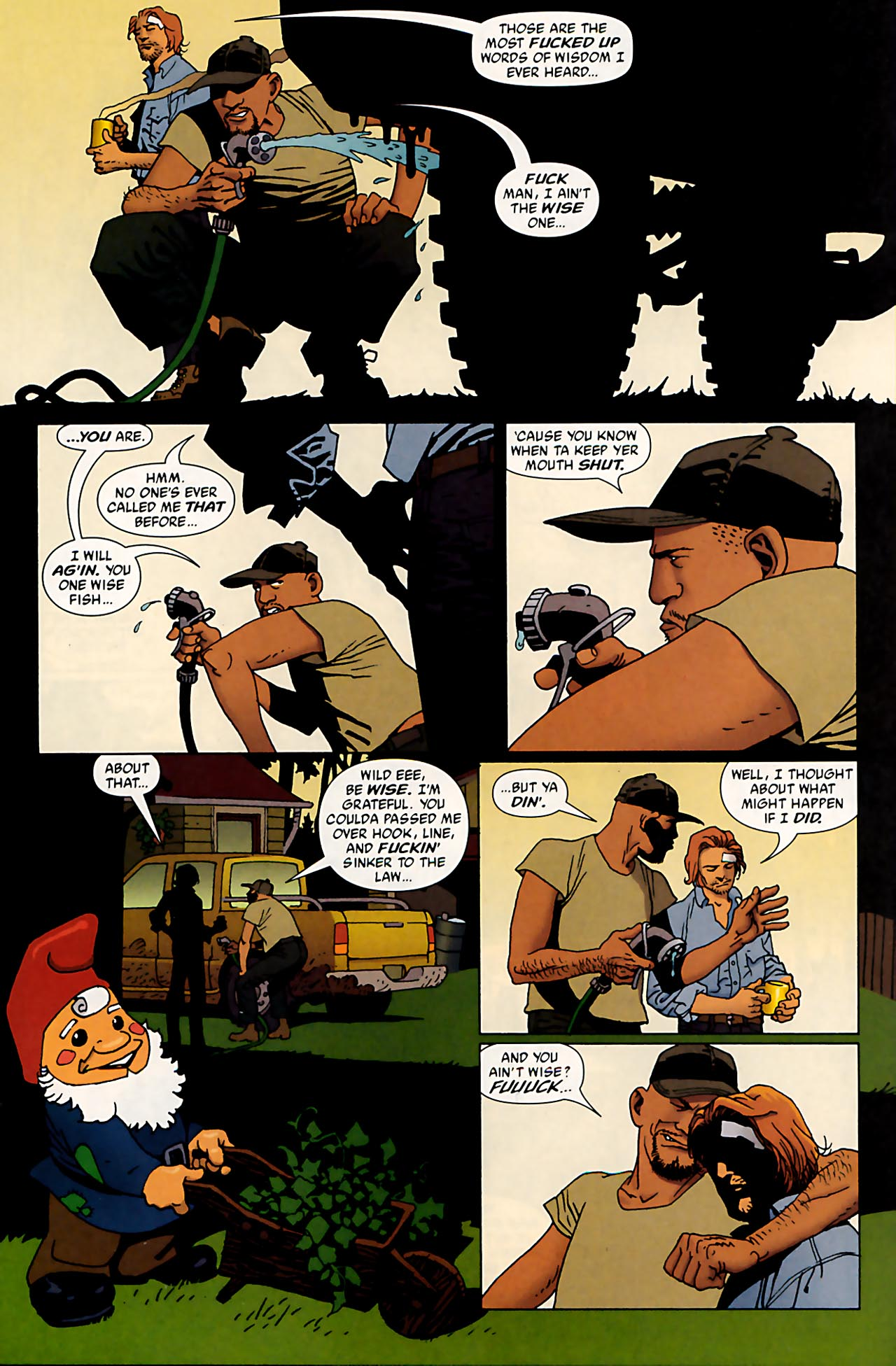 Read online 100 Bullets comic -  Issue #53 - 9