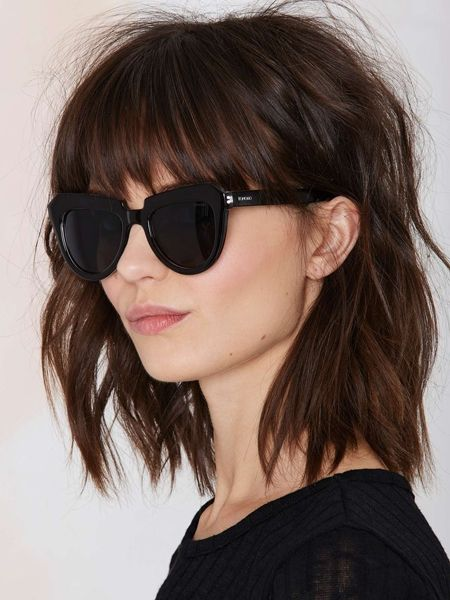 medium layered haarschnitte zu beleuchten - Undercut Frauen Nacken Muster
