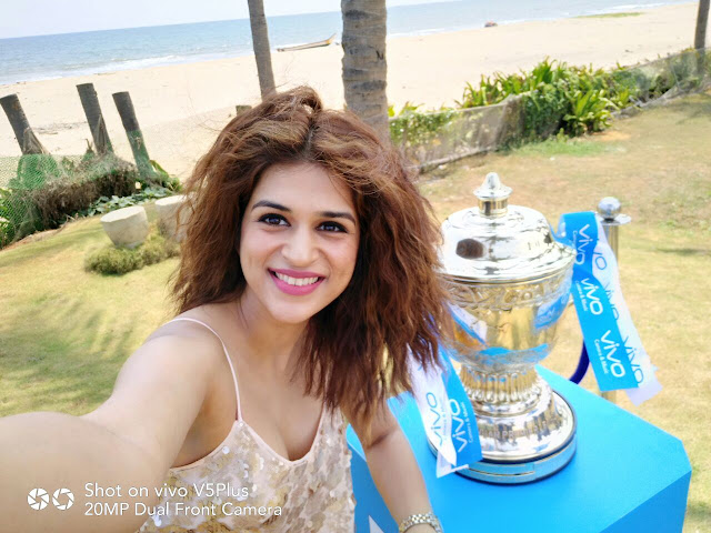 VIVOIPL 2017 Trophy Tour makes a successful debut in Chennai