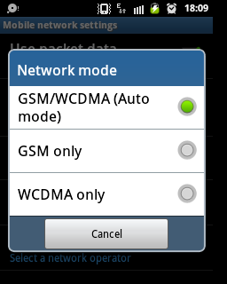 How to select 3G, 2G mode in your smartphone?