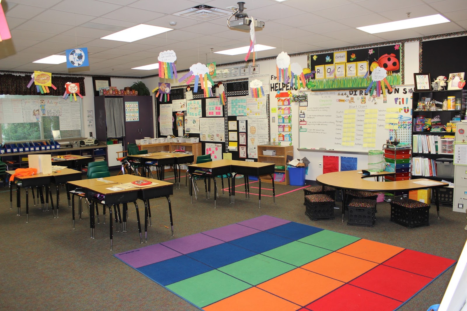 Reading Centers First Grade