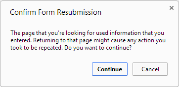 How to prevent duplicate record/data entry on page refresh