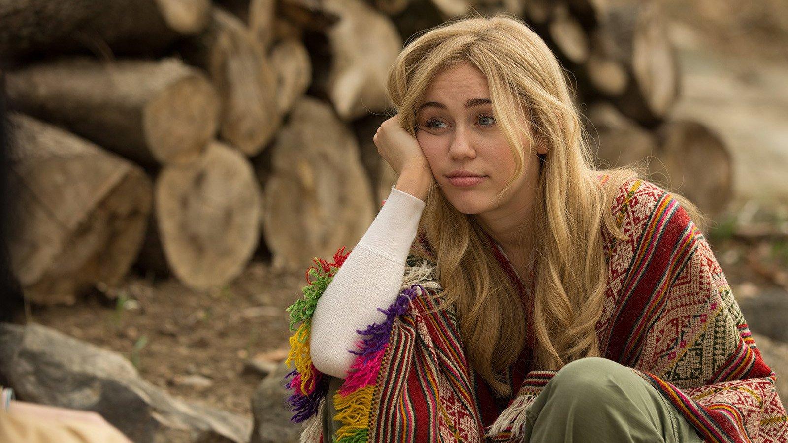 Miley Cyrus, en la foto promocional de Crisis in Six Scenes