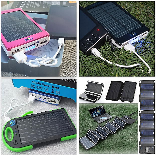 HG solar chargers