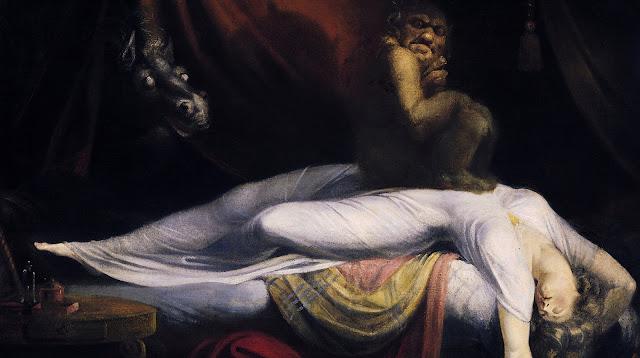 weird ghost figure horror story usa