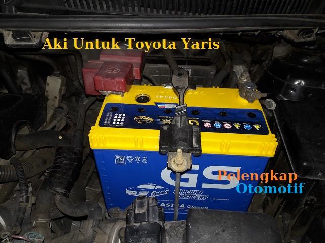 Harga Aki Untuk Mobil Toyota Yaris