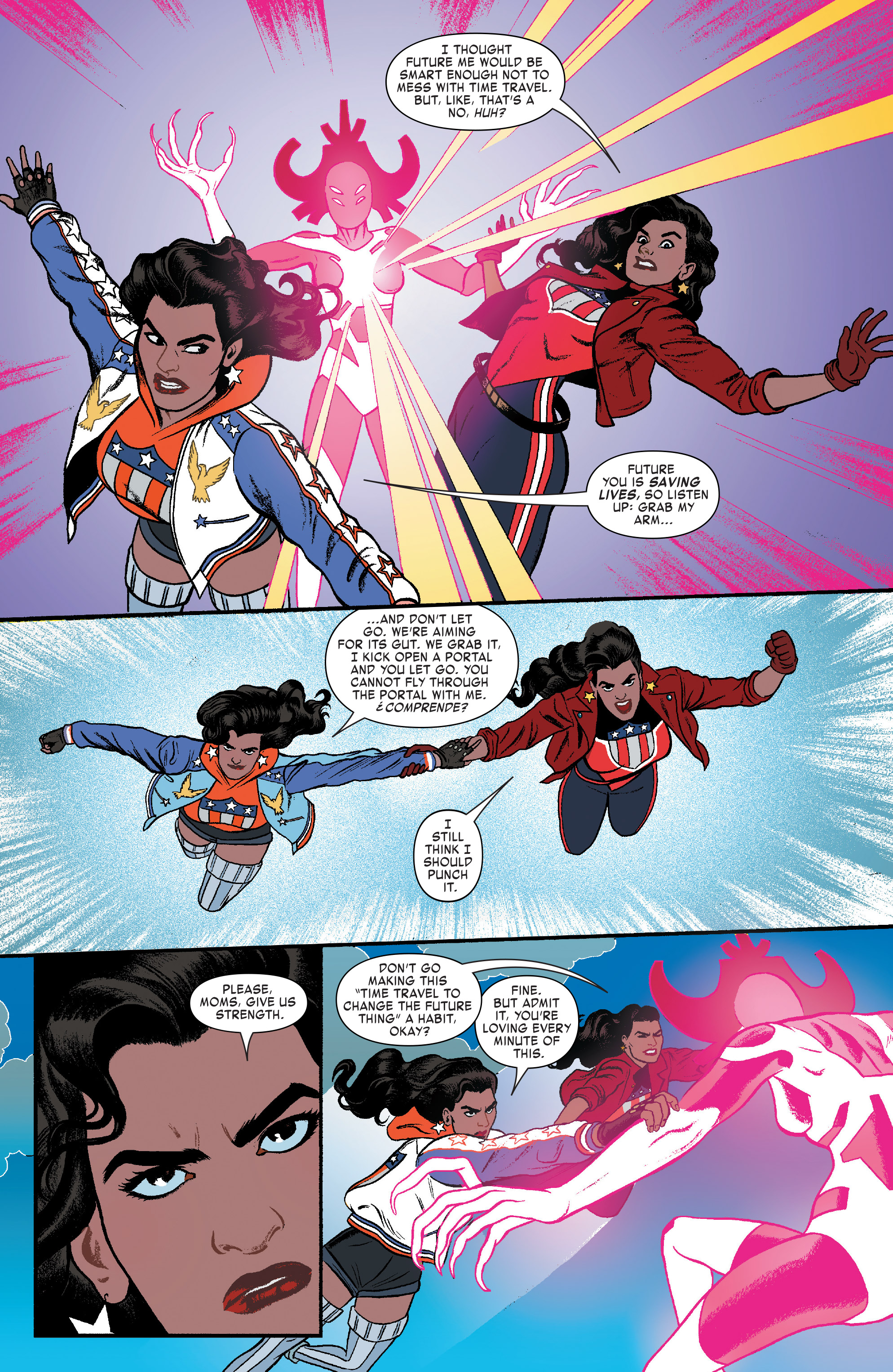 Read online America (2016) comic -  Issue #4 - 11