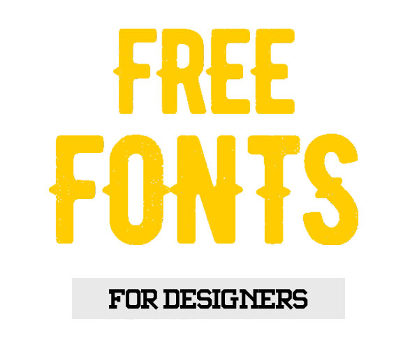 95 Fresh And Creative Free Fonts