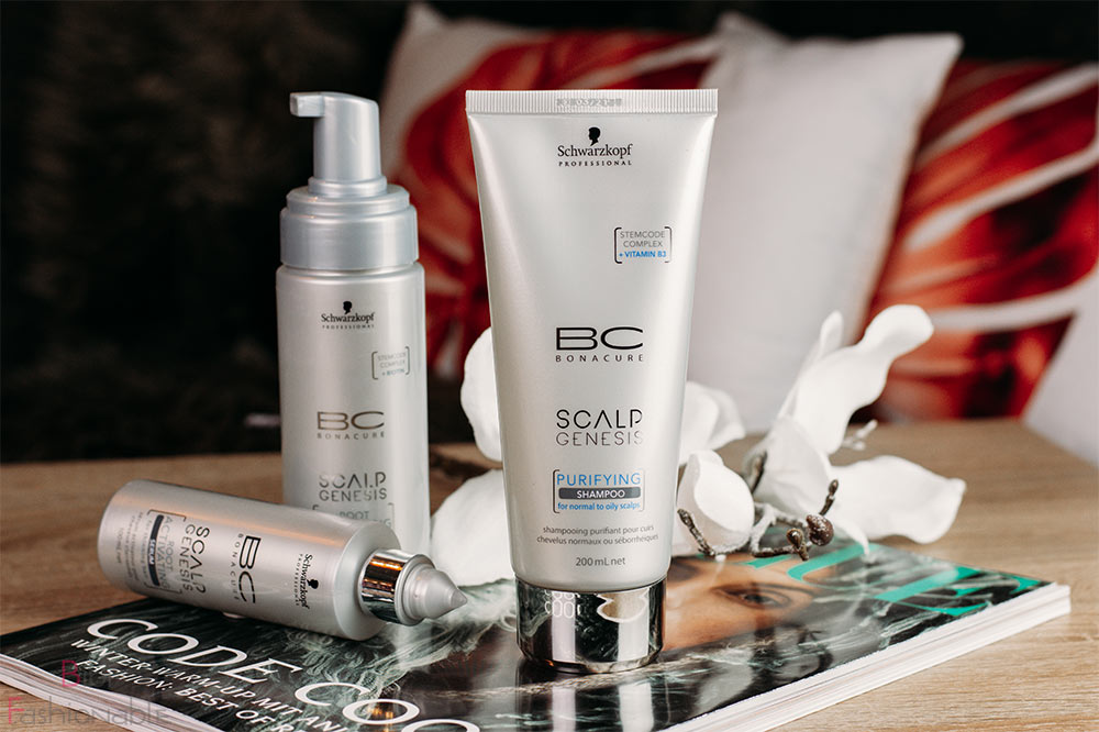 Schwarzkopf Professional BC Bonacure Scalp Genesis Purifying Shampoo
