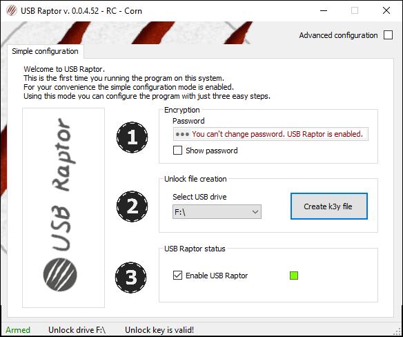 برنامج USB Raptor