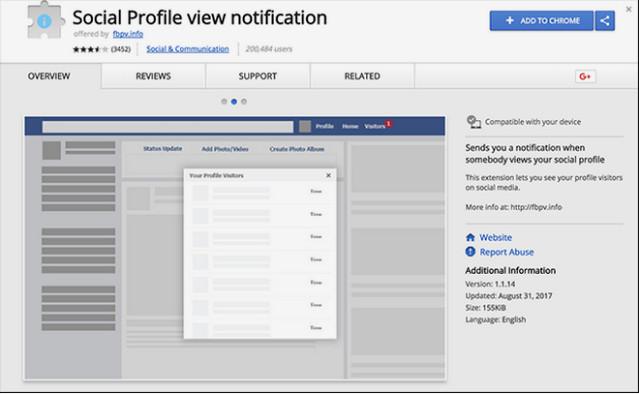 هل هناك طريقة حقيقية لمعرفة من شاهد صفحتك الشخصية علي فيسبوك ؟