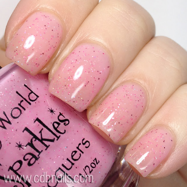 My World Sparkles-Sweet Kisses