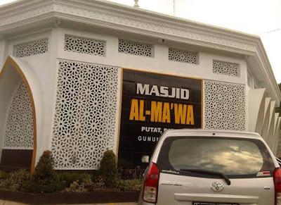 motif krawangan masjid dari jenis krawangan GRC