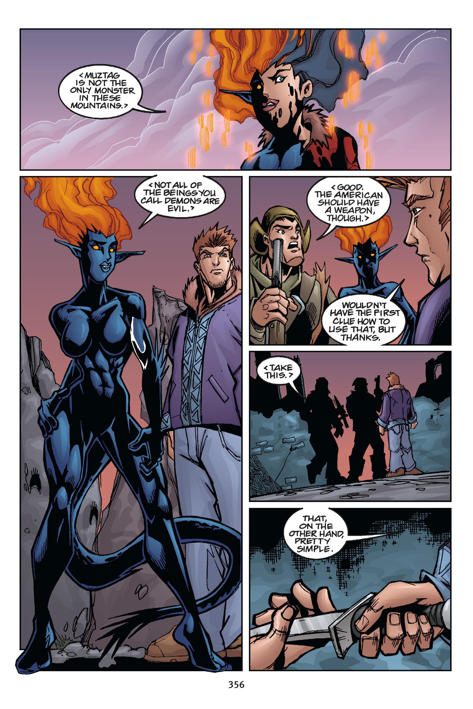Read online Buffy the Vampire Slayer: Omnibus comic -  Issue # TPB 5 - 354
