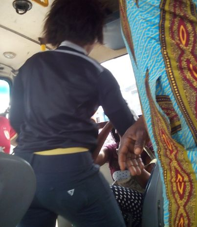 Image result for people fighting inside bus in lagos