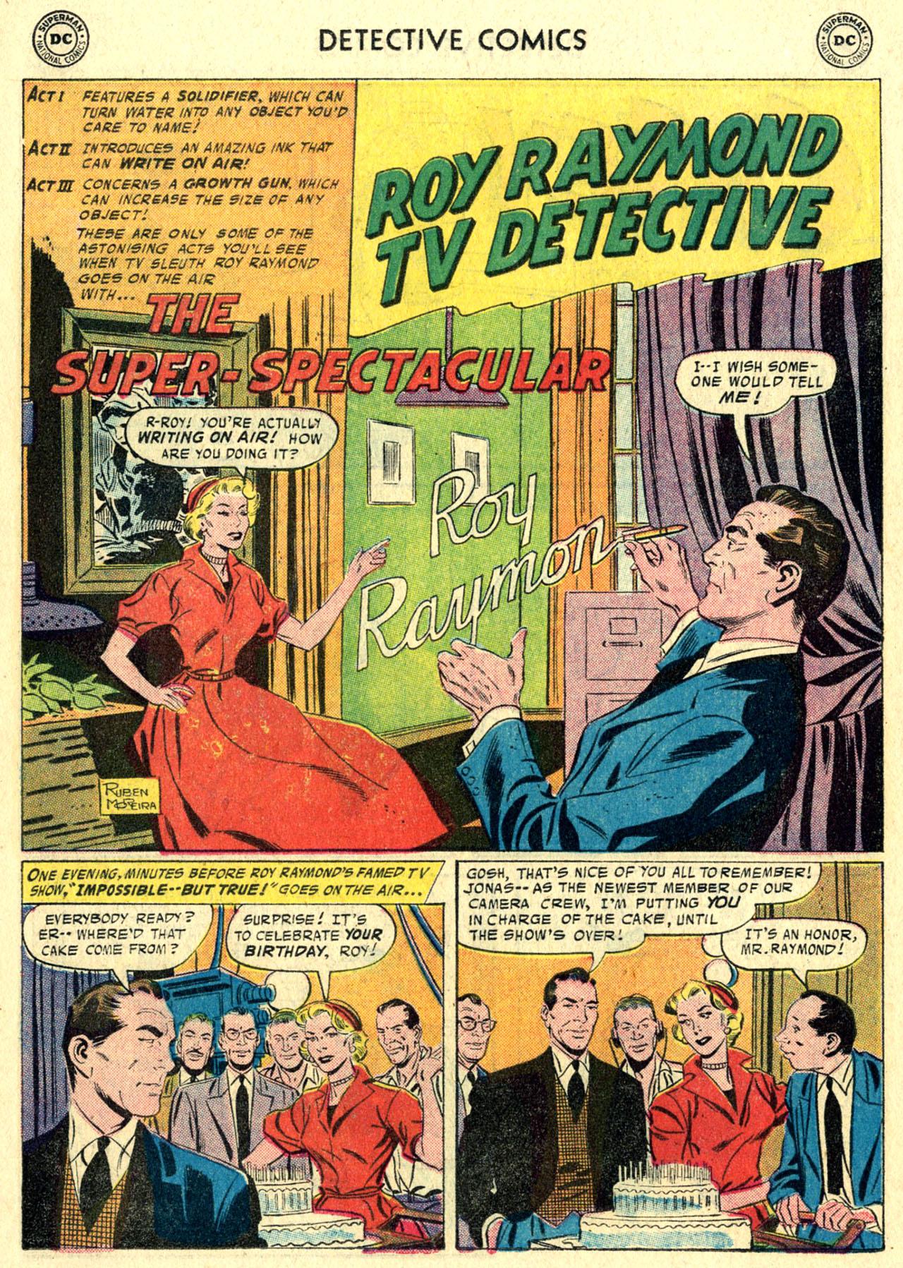 Read online Detective Comics (1937) comic -  Issue #244 - 18