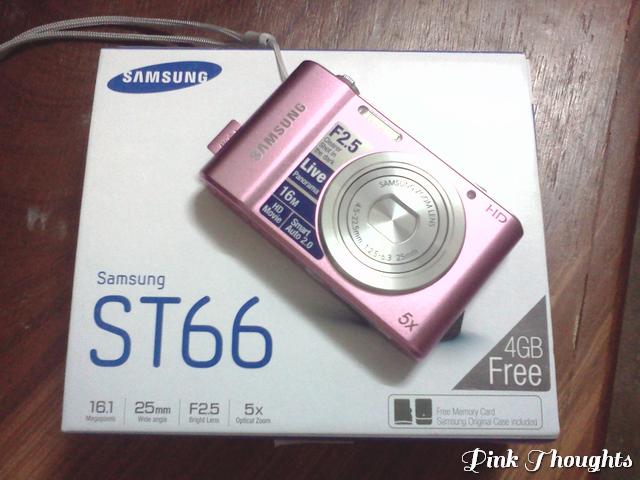 pink samsung st66