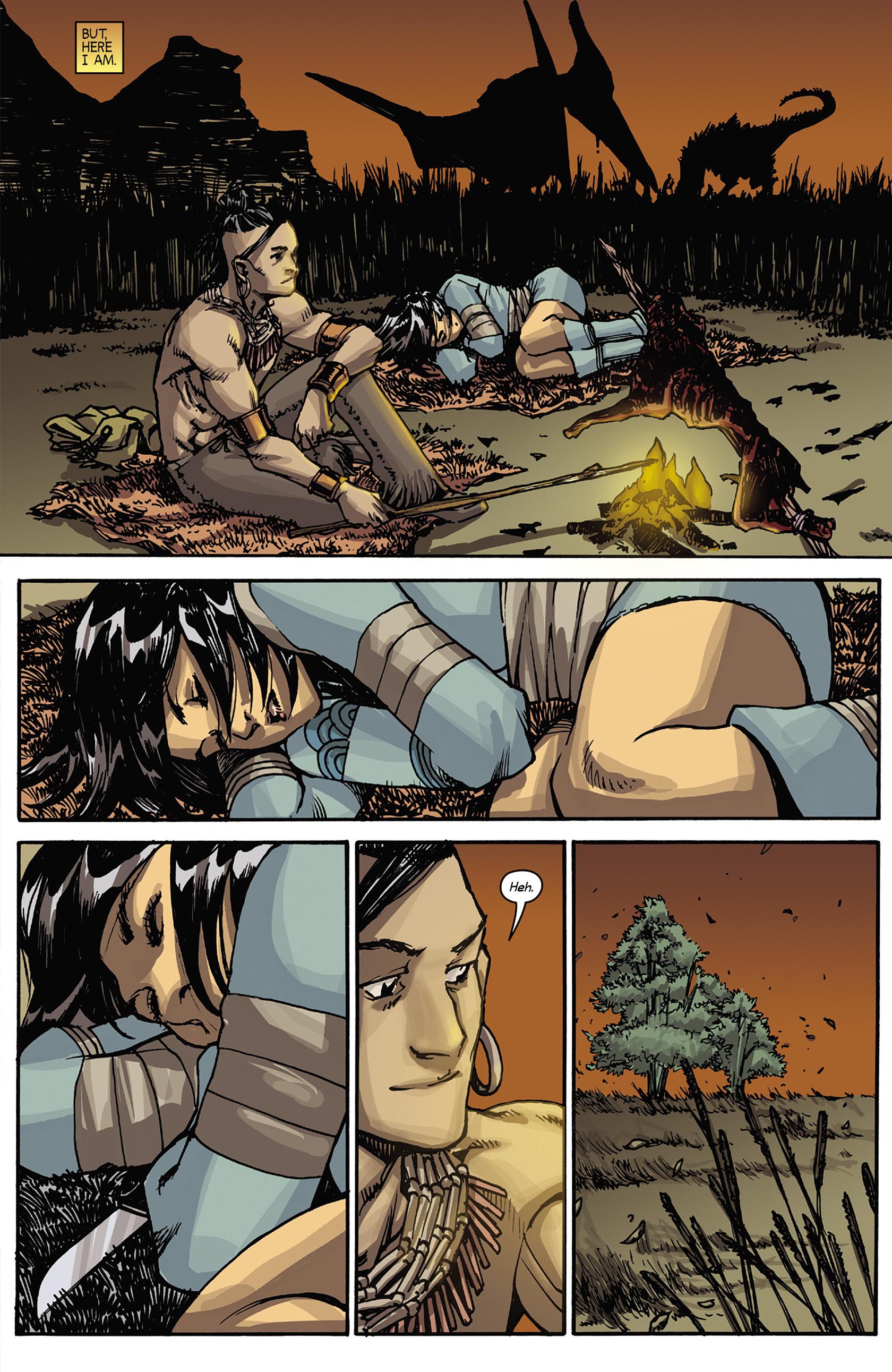 Read online Turok: Dinosaur Hunter (2014) comic -  Issue #5 - 17
