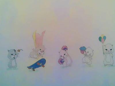 Ścienne rysunki dla dzieci