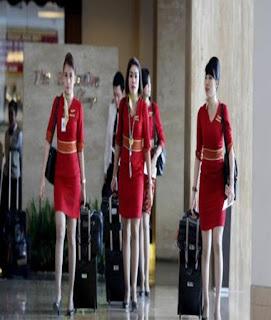 model baju pramugari batik air