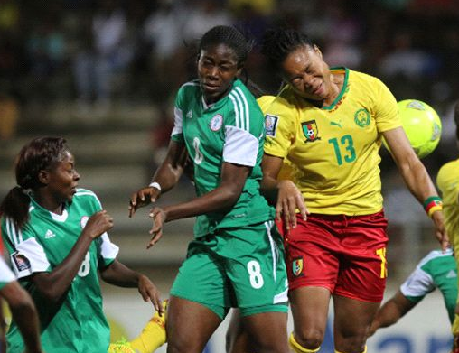 nigeria falcons defeats cameroon