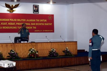 238 Personel TNI dan Polri Ikuti Rakornis POM TNI