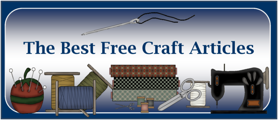 "Thanks For Visiting ""The Best Free Craft Articles"" Blog.  We Hope You Enjoyed Your Visit!"