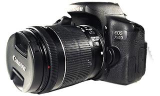 Harga Kamera Canon EOS 750D serta Spesifikasi