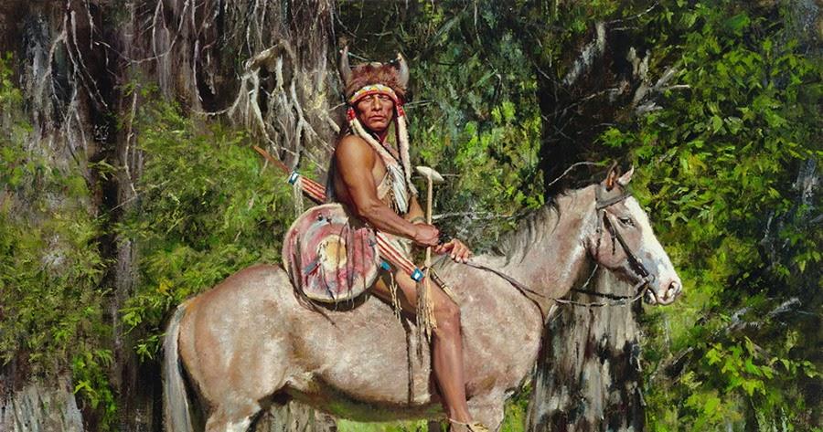 Imgenes Arte Pinturas Caballos Indios Americanos