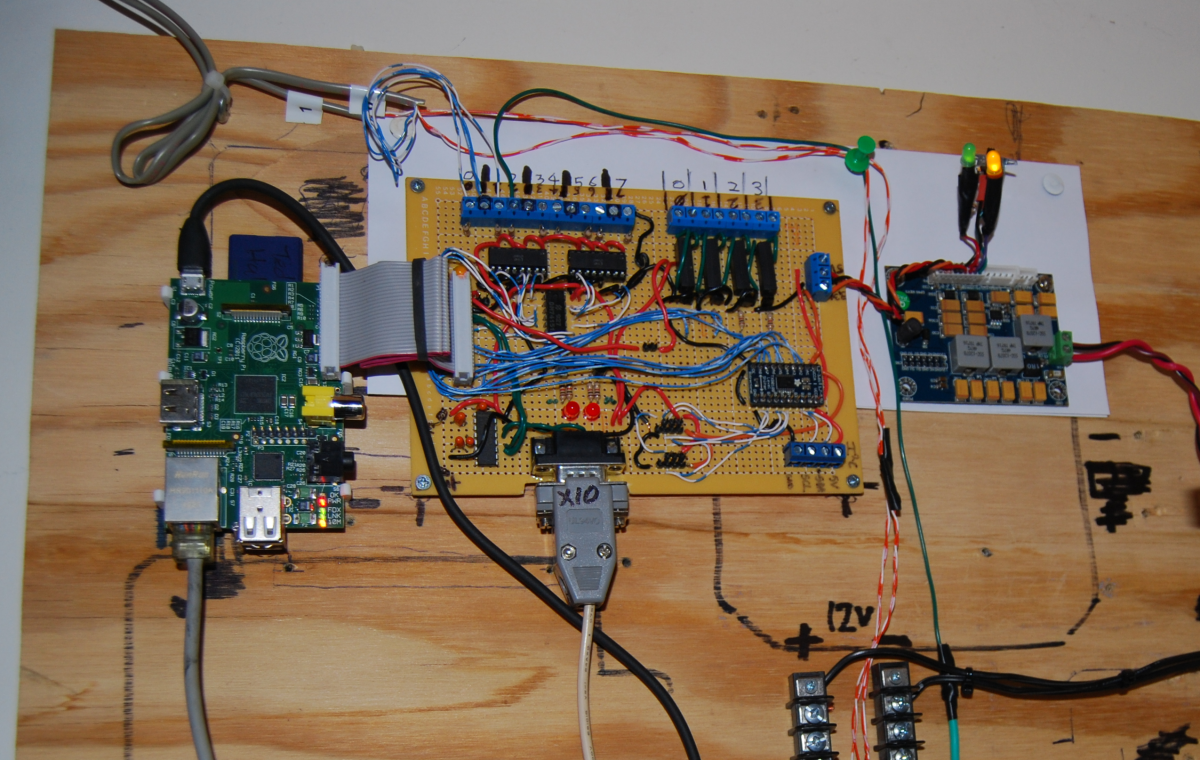 The Raspberry Pi Hobbyist Mounted And Testing Begun