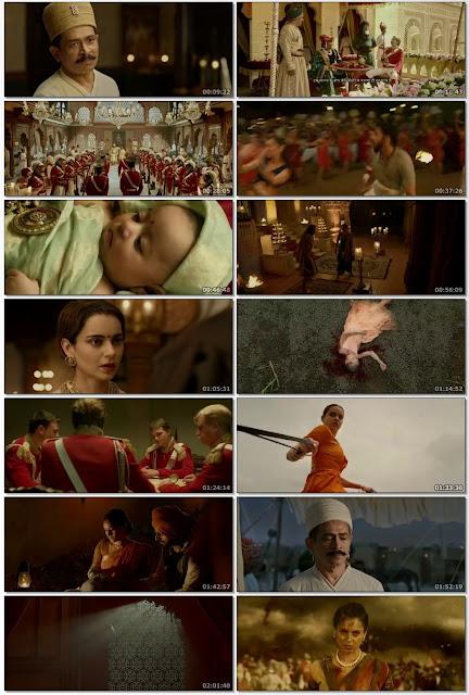 Manikarnika: The Queen of Jhansi (2019) Hindi 480p HDRip x264 AAC ESubs [400MB] Full Bollywood Movie