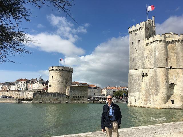 Un día en La Rochelle paseando