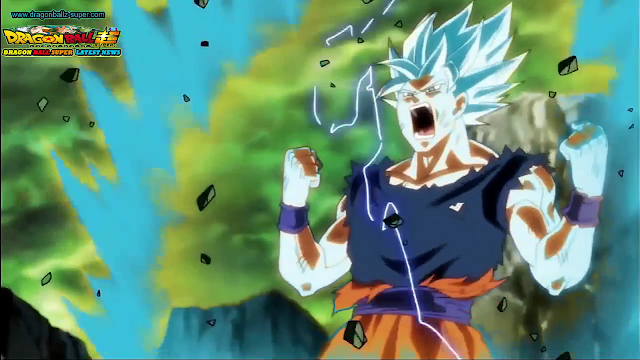 Dragon Ball Super episode 115 Goku VS Kafla Super Saiyajin blue beaten ?