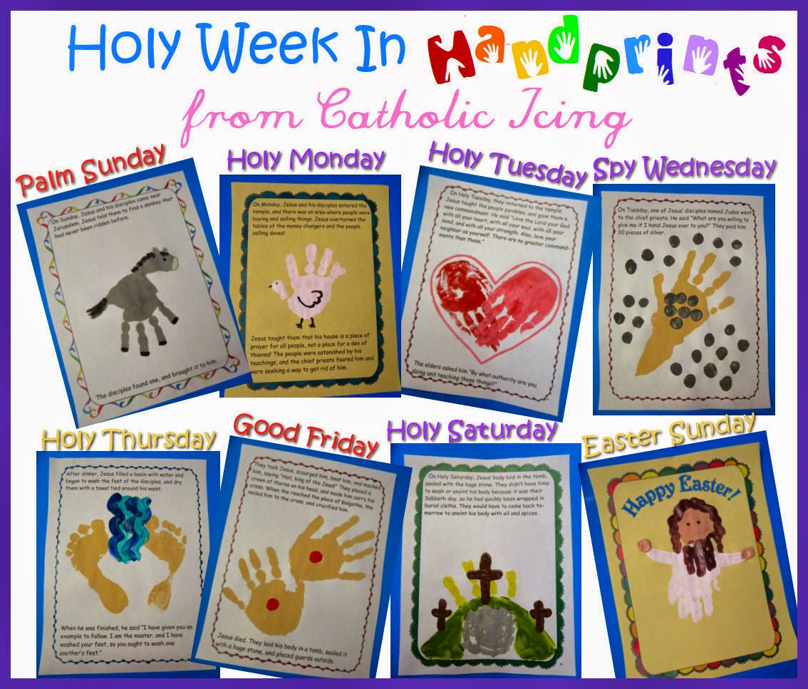 Abby S Mom Squad Blog Holy Week In Handprints