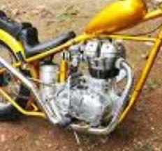 spesifikasi mesin motor chopper jokowi dan kapasitas cc mesin tersebut