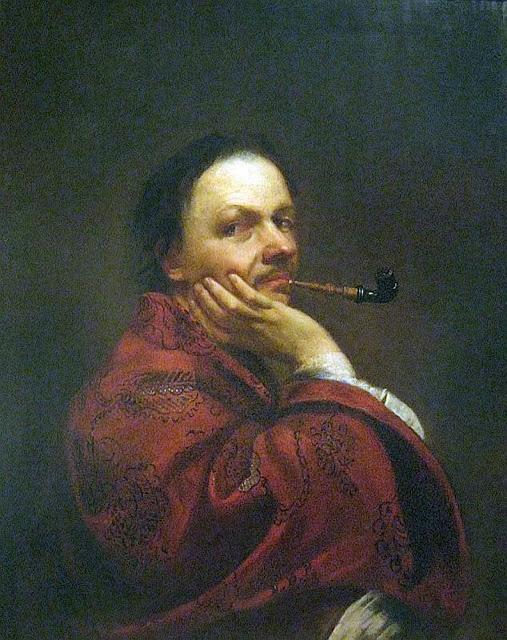 Jan Kupecky, Self Portrait, Portraits of Painters, Fine arts, Portraits of painters blog, Paintings of Jan Kupecky, Painter Jan Kupecky