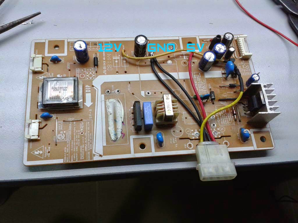 Samsung SyncMaster 732NW Power Supply Modification « DIY ...