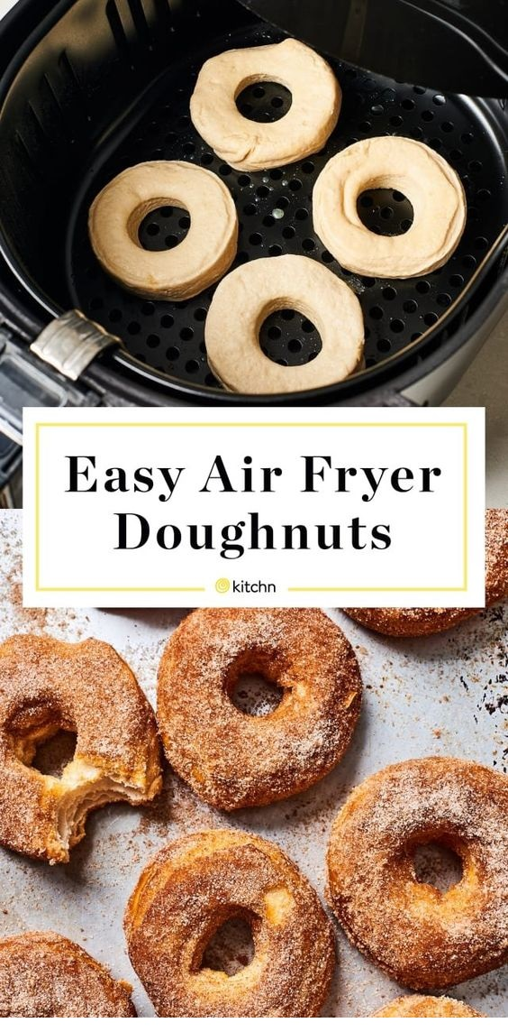 Easy Air Fryer Donuts