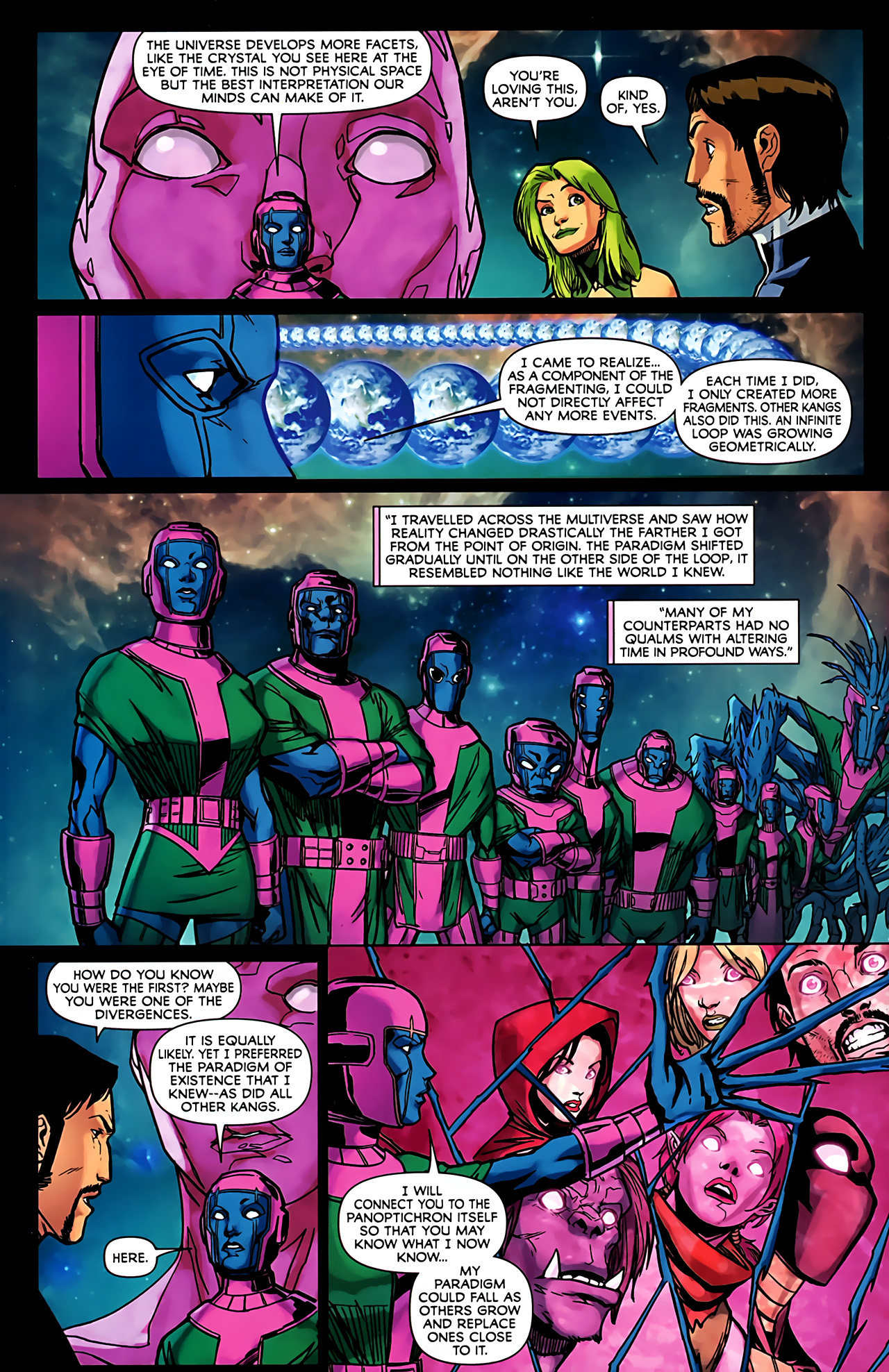 Read online Exiles (2009) comic -  Issue #6 - 31
