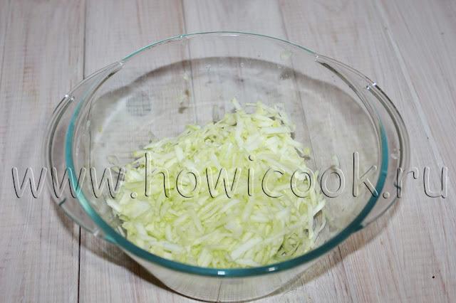 рецепт котлет из индейки с кабачками с пошаговыми фото