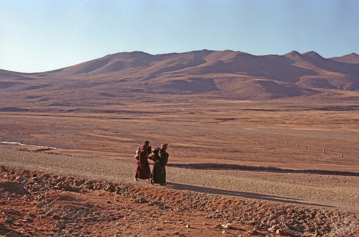 Tibet, Quxu, © L. Gigout, 1990