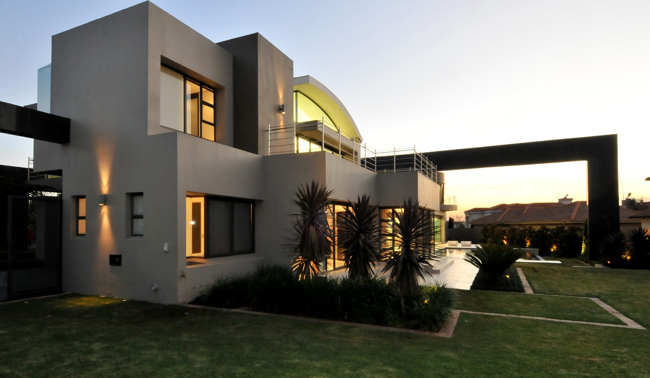 World Of Architecture Huge Modern Home In Hollywood Style
