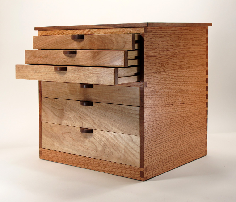 Jm Craftworks Jewelry Cabinet With 6 Drawers