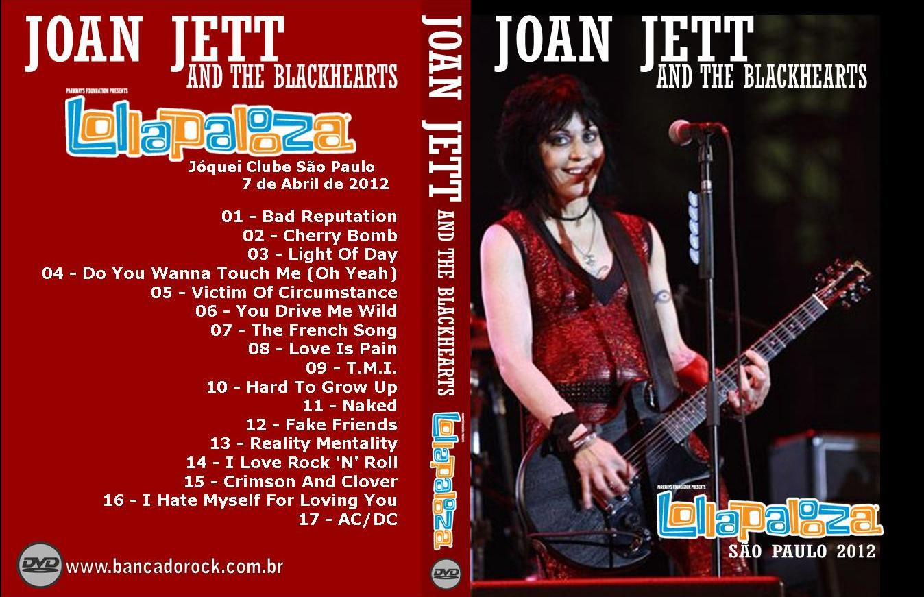 BANCA DO ROCK Rock Concert DVD: 2212 - DVD - JOAN JETT ...