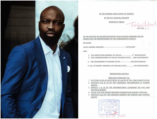 Chocolate City boss, Audu Maikori sues El-Rufai for N10billion | Nigerian: Breaking News In Nigeria