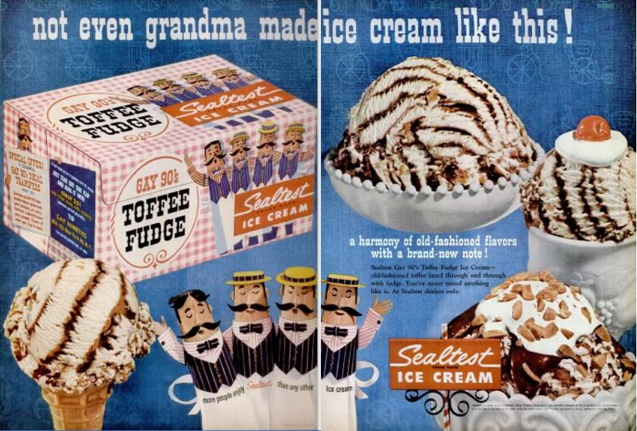 Fabulous My Pretty Baby Cried She Was a Bird: Sealtest Ice Cream (late 1950's) DW85